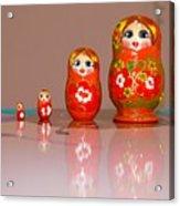 Matryoshka Memories Acrylic Print