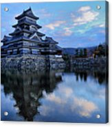Matsumoto Castle 1182 Acrylic Print