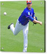 Matt Harvey New York Mets Acrylic Print