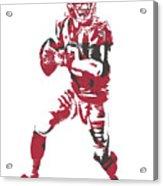 Matt Ryan Atlanta Falcons Pixel Art 5 Acrylic Print