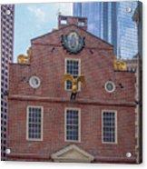 22- Matt V. Group At The Old State House In Boston, Massachusetts On August 26, 2016 Acrylic Print