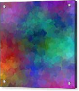 Matter And Space Acrylic Print