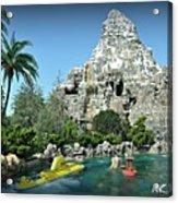 Matterhorn And The Sub Acrylic Print
