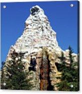 Matterhorn Disneyland Acrylic Print