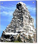 Matterhorn Peak Acrylic Print