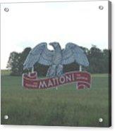 Mattoni Acrylic Print