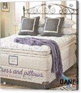 Mattress And Pillows Acrylic Print