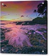 Maui Beauty Acrylic Print
