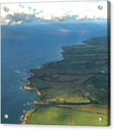 Maui Coastline Acrylic Print