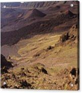 Maui, Haleakala Crater Acrylic Print