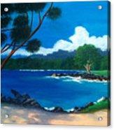 Maui Inlet Acrylic Print