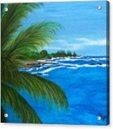 Maui Palm Acrylic Print