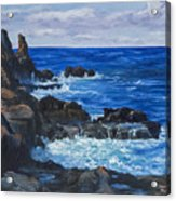 Maui Rugged Coastline Acrylic Print