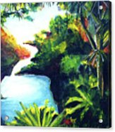 Maui Seven Sacred Falls #184 Acrylic Print