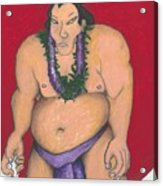 Maui Sumo Acrylic Print