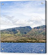 Maui - View From The Boat Acrylic Print