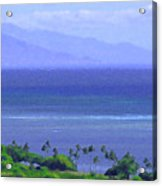Maui View Acrylic Print