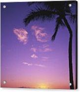 Maui, Wailea, Sunset Acrylic Print