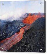 Mauna Loa Eruption Acrylic Print by Joe Carini - Printscapes