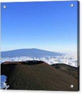 Mauna Loa In The Distance Acrylic Print