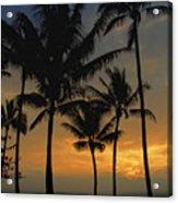 Mauna Loa Sunset - Big Island Hawaii Acrylic Print