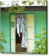 Maupiti Doorway Acrylic Print