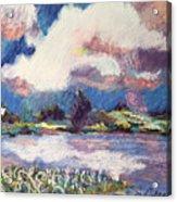 Maurice River Heaven's Delight Acrylic Print