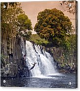 Mauritius Rochester Falls Acrylic Print