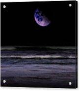 Mauve Ocean Acrylic Print