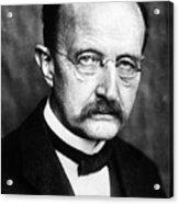 Max Planck  Acrylic Print