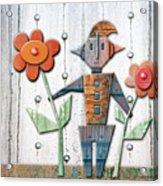 Max The God Of May Acrylic Print