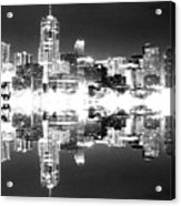 Maxed Cityscape Acrylic Print