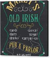 Maxey's Old Irish Pub Acrylic Print