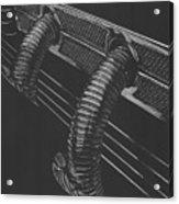 Maximal Minimalist 1935 Cord Acrylic Print