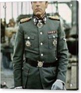 Maximilian Schell As Capt. Stransky Cross Of Iron Publicity Photo 1977 Acrylic Print