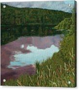 Maxwell Settlement Evening Reflections Acrylic Print