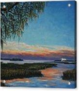 May River Sunset Acrylic Print
