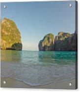 Maya Bay Sunrise Acrylic Print