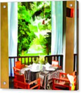 Maya Sari Mas Acrylic Print
