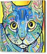 Maya Vintage Acrylic Print by Dean Russo