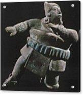 Mayan Athlete, 700-900 A.d Acrylic Print