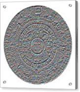 Mayan Calendar Acrylic Print