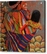Mayan Family Acrylic Print