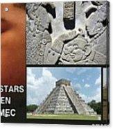 Mayan Olmec Acrylic Print