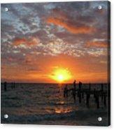 Mayan Riviera Sunrise Acrylic Print
