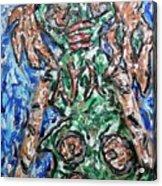 Mayan Snake King Missing Dynasties Acrylic Print
