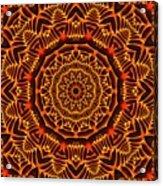 Mayan Sun God Acrylic Print