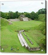 Mayan World Acrylic Print