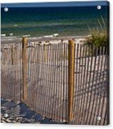 Mayflower Beach Acrylic Print
