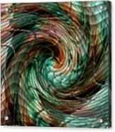Mayhem Swirl Behind The Safety Net Catus 1 No. 1 V A Acrylic Print